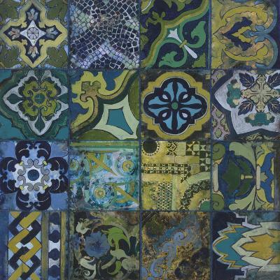 Cobalt Mosaic II