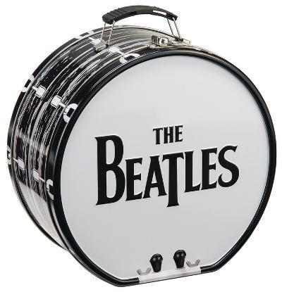 The Beatles Drum Shaped Tin Lunch Box