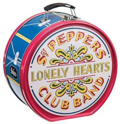 The Beatles Sgt. Pepper's Drum Shaped Tin Lunch Box