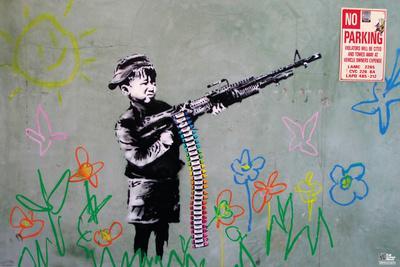 Banksy- Crayon Shooter