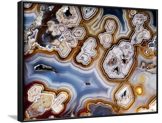 framed agate slices.htm slice of honeycomb agate framed photographic print by dirk wiersma  agate framed photographic print