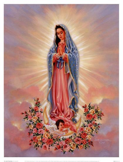 Our Lady Of Guadalupe Posters By Dona Gelsinger At Allposters Com