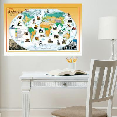National Geographic Animals of the World Wall Decal