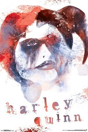 Harley Quinn- Distressed Dreamer