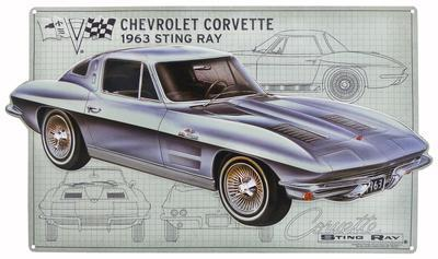 Chevy Corvette Schematic