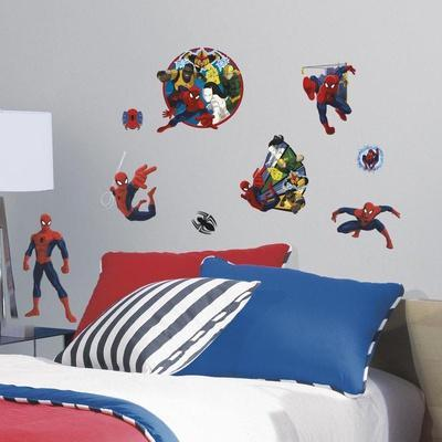 Spider-Man Ultimate and Team Hero Peel and Stick Wall Decals