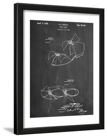 Vintage Beach Sandal 1934 Patent