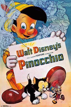 Disney- Pinocchio: One Sheet