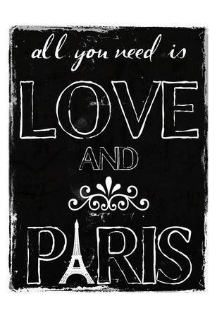 Love And Paris BW