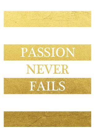 Passion Never Ends
