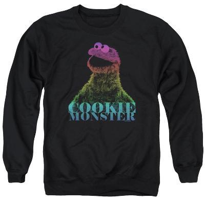 Crewneck Sweatshirt: Sesame Street- Subdued Cookie Monster