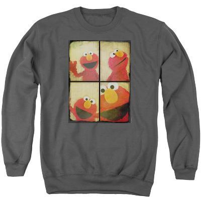 Crewneck Sweatshirt: Sesame Street- Elmo Photo Booth