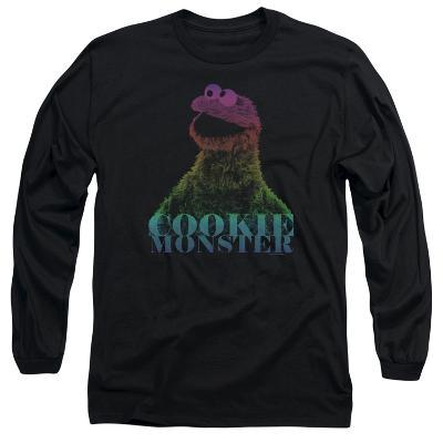 Long Sleeve: Sesame Street- Subdued Cookie Monster