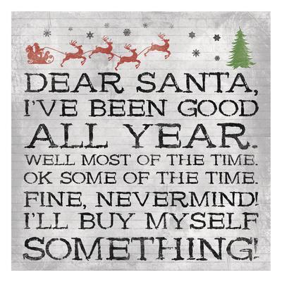 Dear Santa Nevermind Note