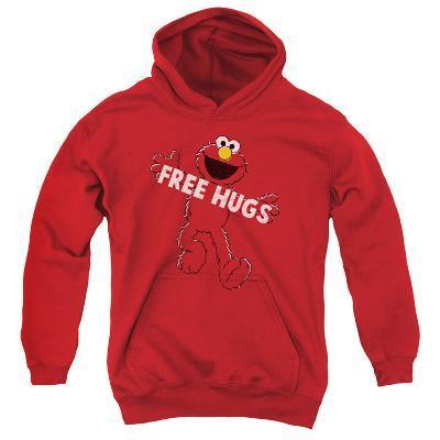 Youth Hoodie: Sesame Street- Elmo Free Hugs