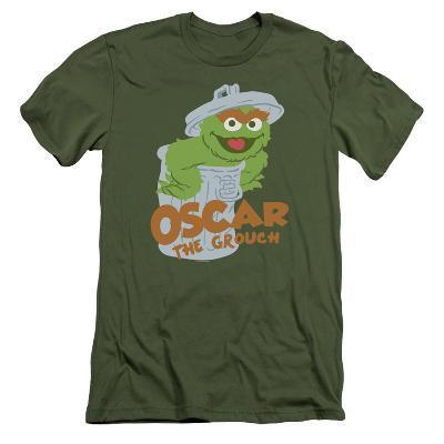 Sesame Street- Smiling Oscar (Slim Fit)