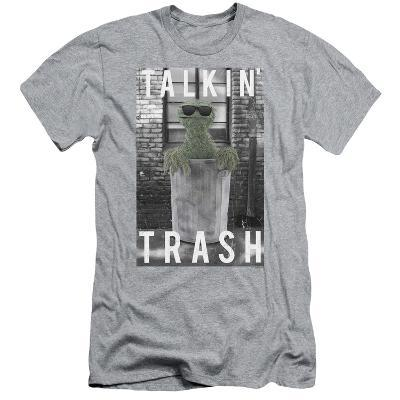 Sesame Street- Oscar Talkin Trash (Slim Fit)