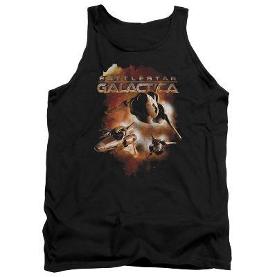 Tank Top: Battle Star Galactica- Viper Formation