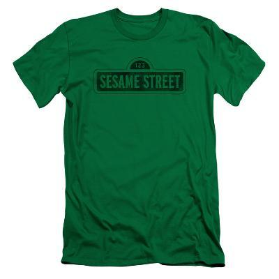 Sesame Street- Solid Logo (Slim Fit)