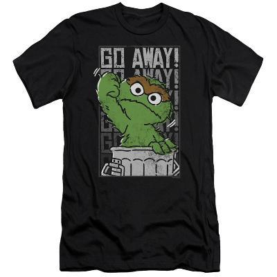 Sesame Street- Go Away (Slim Fit)