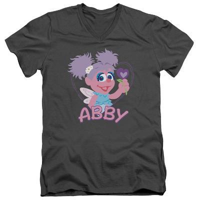 Sesame Street- Smiley Abby V-Neck