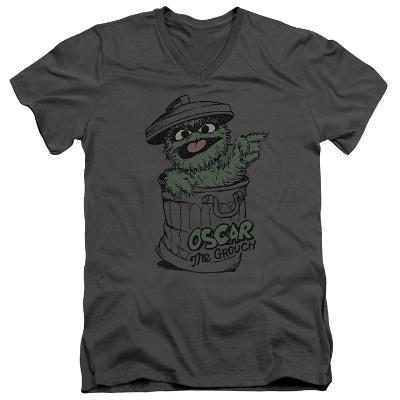 Sesame Street- Early Grouch V-Neck