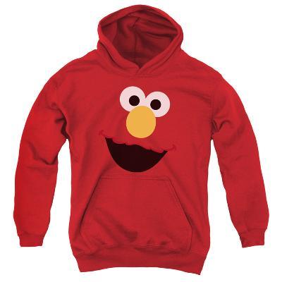 Youth Hoodie: Sesame Street- Big Elmo Face