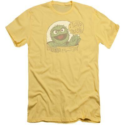 Sesame Street- Oscar Loves Trash (Slim Fit)