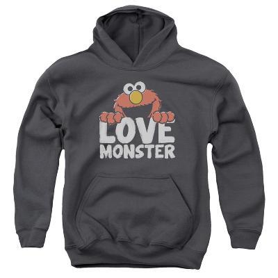 Youth Hoodie: Sesame Street- Elmo Love Monster