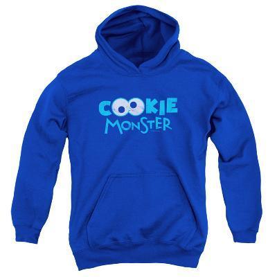 Youth Hoodie: Sesame Street- Cookie Googley Eyes