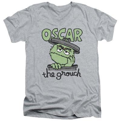 Sesame Street- Grouch In A Can V-Neck