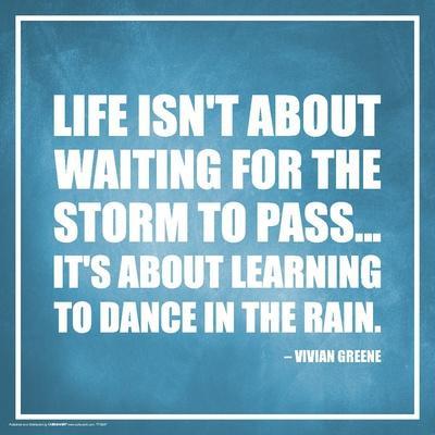 Vivian Greene- Learn To Dance In The Rain