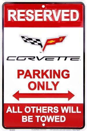 Corvette Parking Only