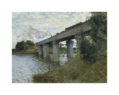 The Railway Bridge at Argenteuil, c.1873-1874