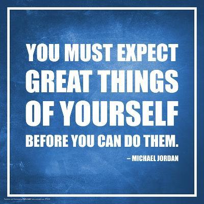 Michael Jordan- Expect Great Things