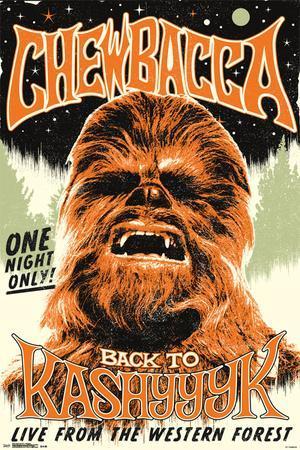 Star Wars- Chewbacca Back On Kashyyyk