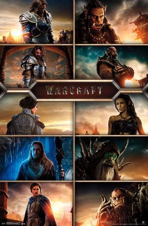 Warcraft- Movie Cast Grid