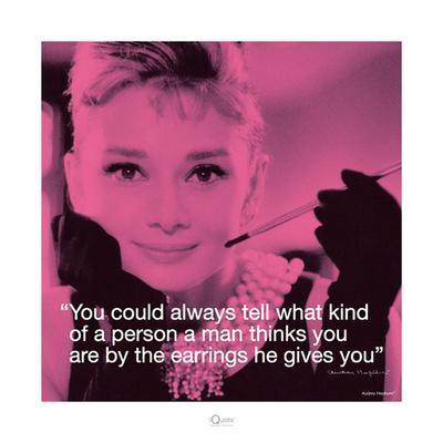Audrey Hepburn – Earrings
