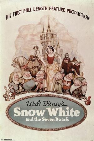 Disney: Snow White- One Sheet