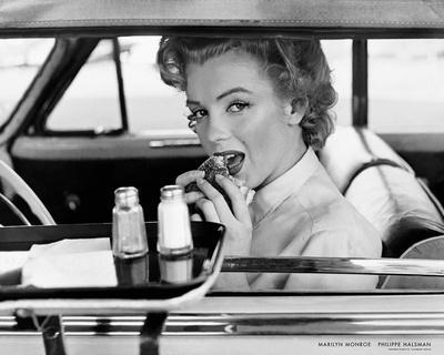 Marilyn Monroe at the Drive-In, 1952