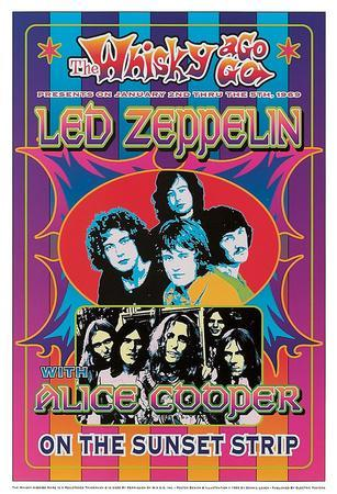 Led Zeppelin, Alice Cooper