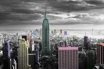 New York - Color Splash