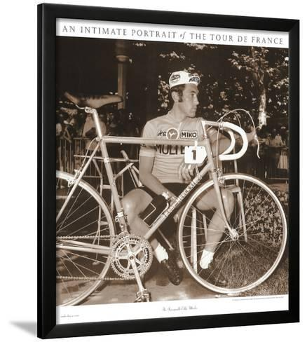 CYCLING ART PRINT The Incomparable Eddy Merckx Sports Pressee