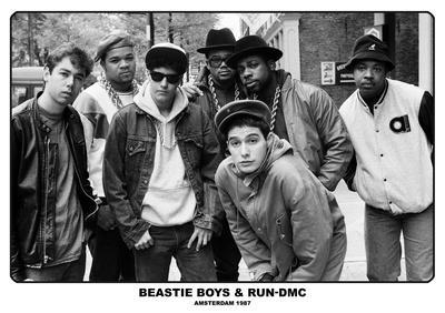 Beastie Boys & Run Dmc- Amsterdam 1987