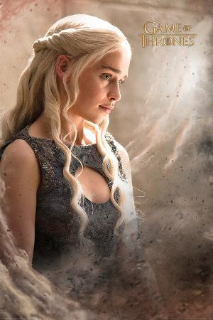 Game Of Thrones- Daenerys Quiet In The Storm