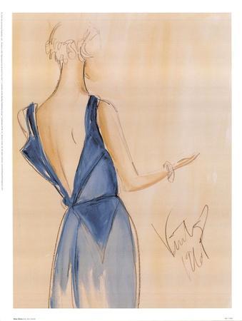 Blue Dress I