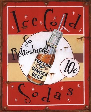Ice Cold Sodas