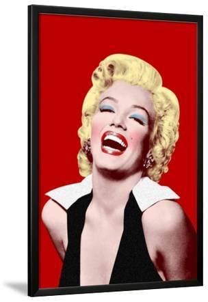 Marilyn Monroe- Big Smile In Red