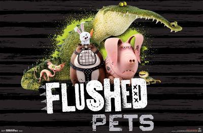 Secret Life Of Pets- Flushed Pets