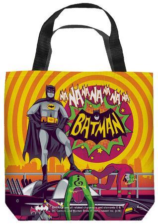 Batman Classic Tv - Batman Wins Again Tote Bag